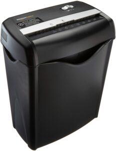 Black paper shredder