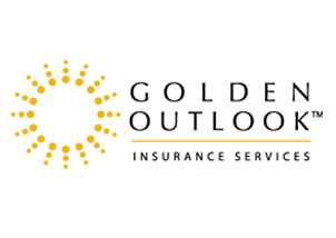 Colored golden outlook logo