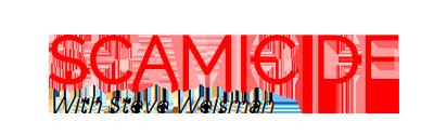 Colored scamicide logo